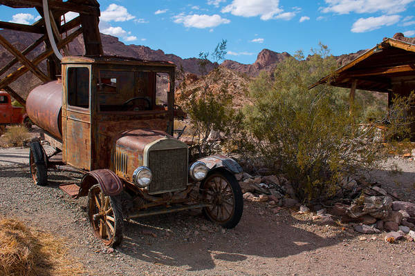Photograph - Abandoned Ford Model T Tanker by Kristia Adams