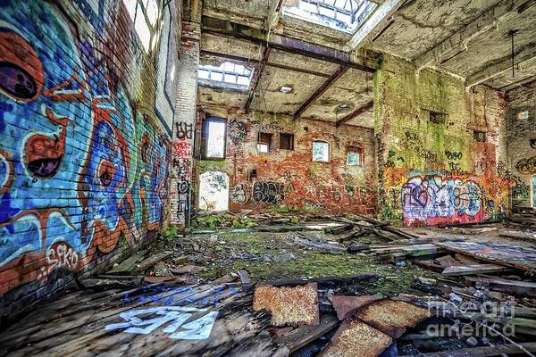 Wall Art - Photograph - Abandoned Hartford Woolen Mill Newport New Hampshire by Edward Fielding