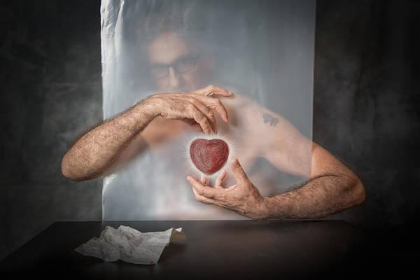 Hearts Wall Art - Photograph - Abandoned Heart by Vito Guarino