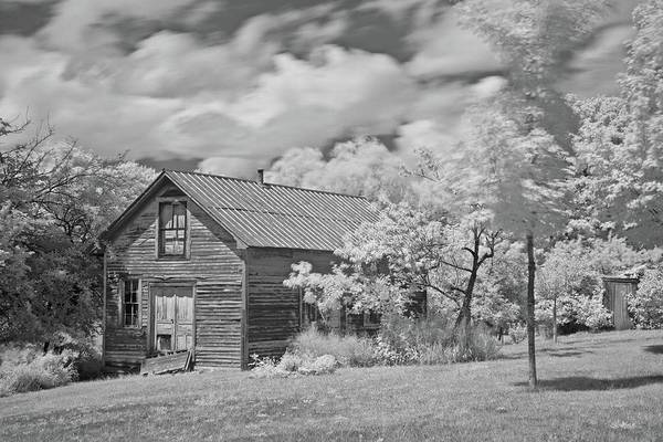 Wall Art - Photograph - Abandoned Homestead 6243 by Michael Peychich