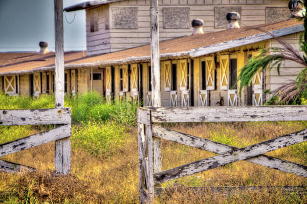 Corral Wall Art - Photograph - Abandoned Horse Stables by Connie Cooper-Edwards