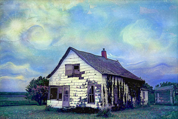 Photograph - Abandoned House In Time by Anna Louise