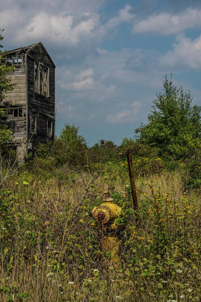 Photograph - Abandoned Hydrant by Lindy Grasser