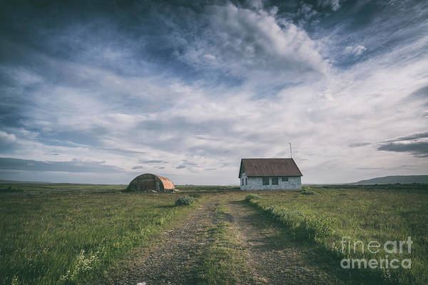 Silo Photograph - Abandoned Iceland  by Michael Ver Sprill