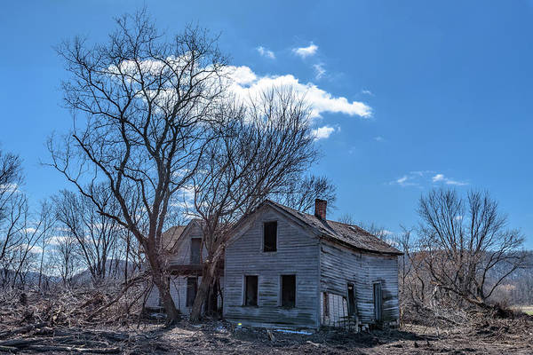 Photograph - Abandoned In Arena Wi by Randy Scherkenbach