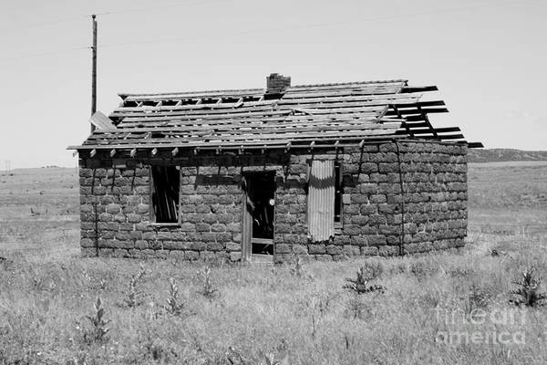Photograph - Abandoned In Ludlow by Tony Baca