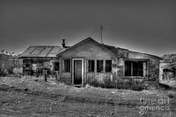 Photograph - Abandoned In Silver Cliff by Tony Baca