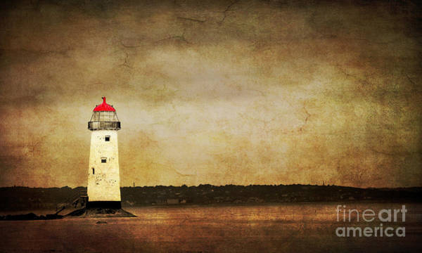 Wall Art - Photograph - Abandoned Lighthouse by Meirion Matthias