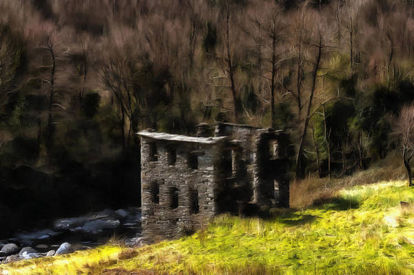 Photograph - Abandoned Mill What Remains ... by Enrico Pelos