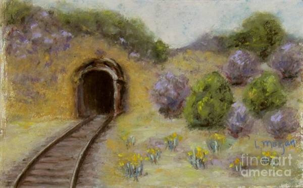 Pastel - Abandoned Mine by Laurie Morgan