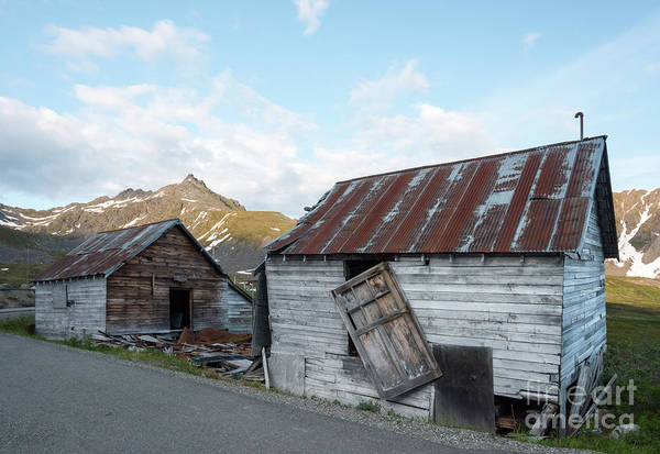 Gold Rush Wall Art - Photograph - Abandoned Mine Buildings by Paul Quinn