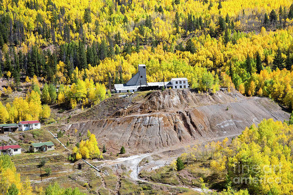 Photograph - Abandoned Mining Town by Jim West