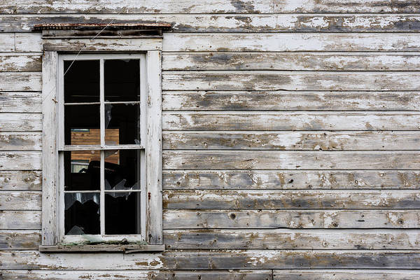 Ghosttown Photograph - Abandoned Montana Cabin by Steve Gadomski