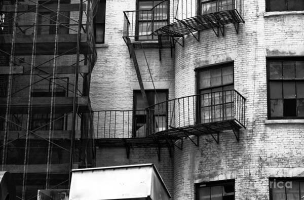 Photograph - Abandoned New York Mono by John Rizzuto