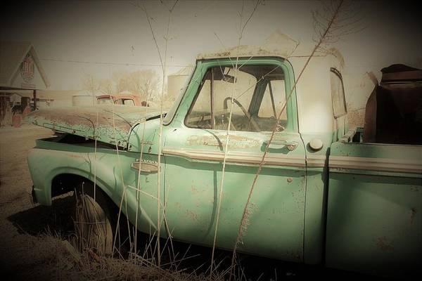 Wall Art - Photograph - Abandoned Pickup by Toni Grote
