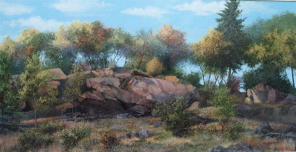 Painting - Abandoned Quarry by E Colin Williams ARCA
