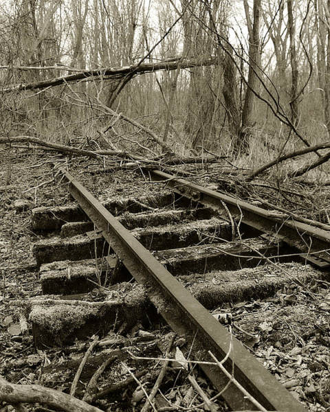 Photograph - Abandoned Railroad 2 by Scott Hovind