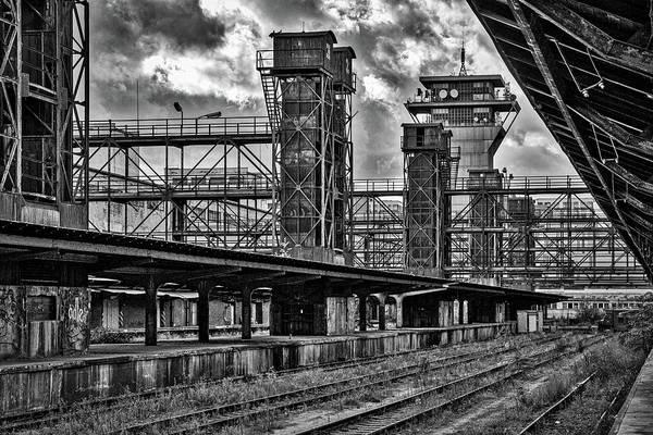 Photograph - Abandoned Railroad Station - Prague by Stuart Litoff