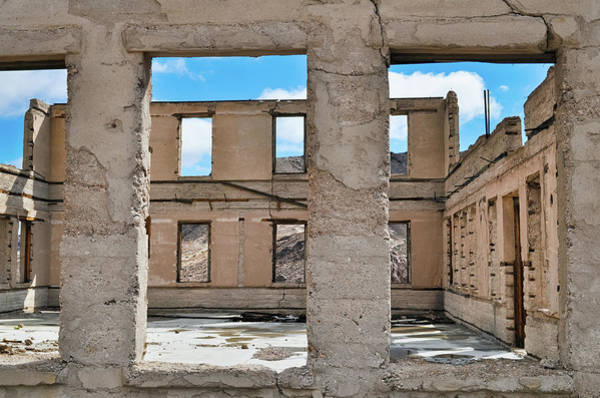 Photograph - Abandoned Rhyolite Ghost Town by Kyle Hanson