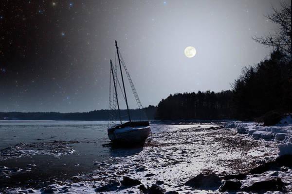 Photograph - Abandoned Sailboat by Larry Landolfi