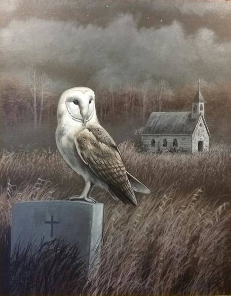 Wall Art - Painting - Abandoned Sanctuary by Paul Makuchal