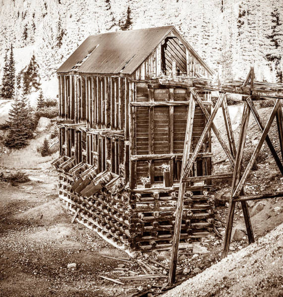 Wall Art - Photograph - Abandoned Silver Mine 2 by Marilyn Hunt