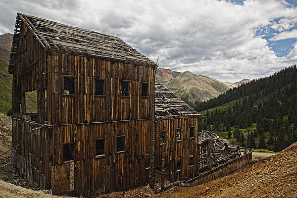 Abandoned Silver Mine Art Print