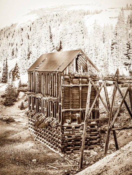 Photograph - Abandoned Silver Mine by Marilyn Hunt