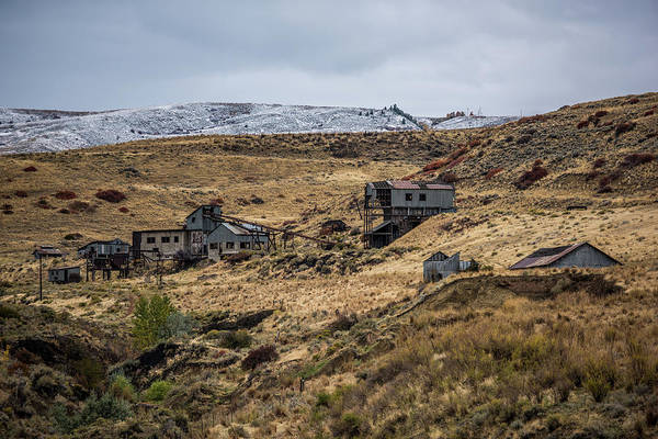 Wall Art - Photograph - Abandoned Smith Mine by Paul Freidlund