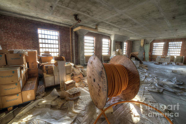 Wall Art - Photograph - Abandoned Spindle  by Michael Ver Sprill