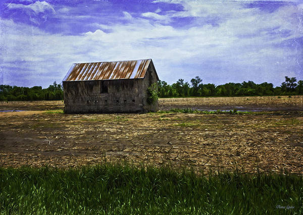 Photograph - Abandoned Stone Barn by Anna Louise