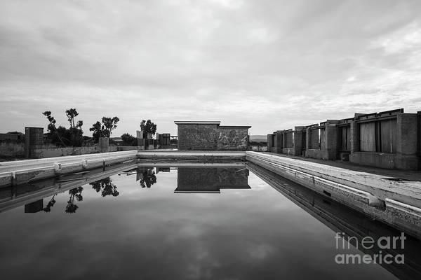 Photograph - Abandoned Swimming Pool by Clayton Bastiani