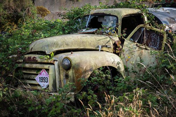 Photograph - Abandoned Tanker Truck by Robert Potts