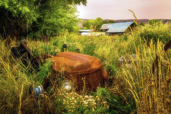 Photograph - Abandoned Tractor by TL Mair