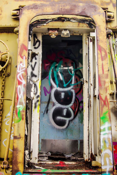Photograph - Abandoned Train Entrance by Scott Lacey