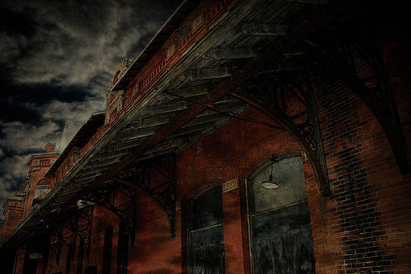 Photograph - Abandoned Train Station by Scott Hovind