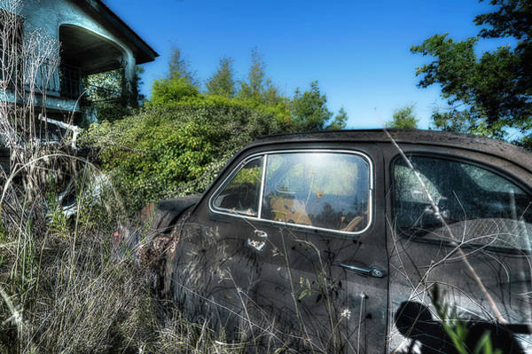 Photograph - Abandoned Vehicles - Veicoli Abbandonati  2 by Enrico Pelos