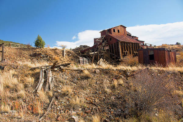 Photograph - Abandoned Vindicator Valley Mine by Kristia Adams