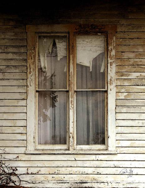 Photograph - Abandoned Window by Paul Gaj