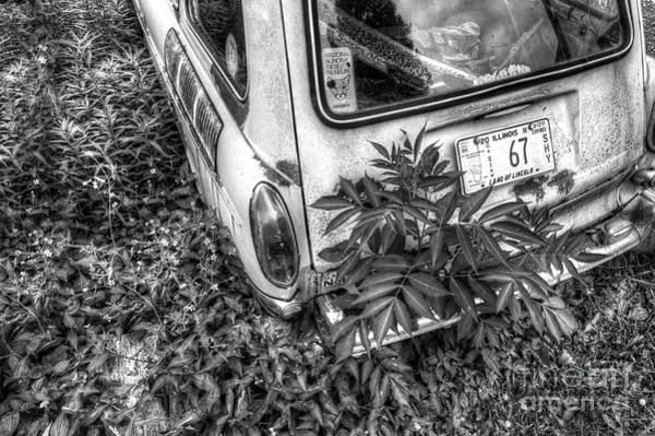 Wall Art - Photograph - Abaondoned Car Along Route 66 by Twenty Two North Photography