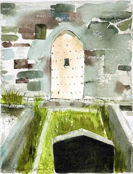 Abbey Door Art Print