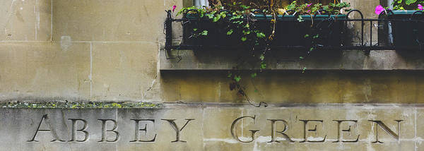 Photograph - Abbey Green Carved In The Stone by Jacek Wojnarowski