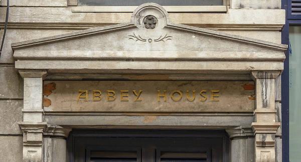 Photograph - Abbey House Pediment by Jacek Wojnarowski