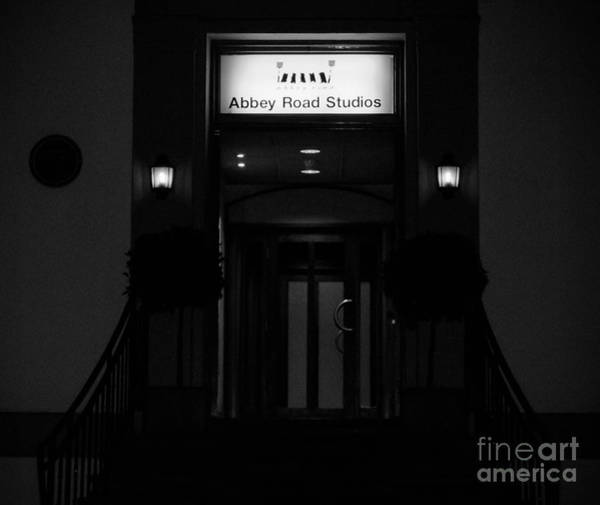 Photograph - Abbey Road Studios At Night by Andrea Anderegg