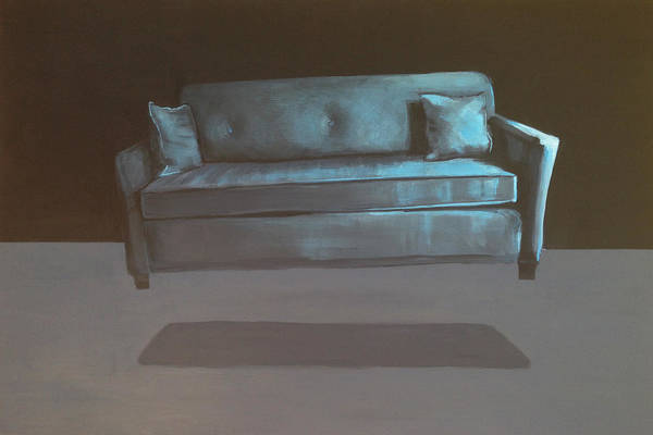 Couch Wall Art - Painting - Abduction by Jeffrey Bess