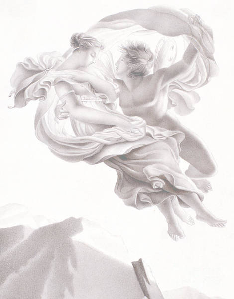 Abduction Wall Art - Drawing - Abduction Of Psyche by Therese Macdonale
