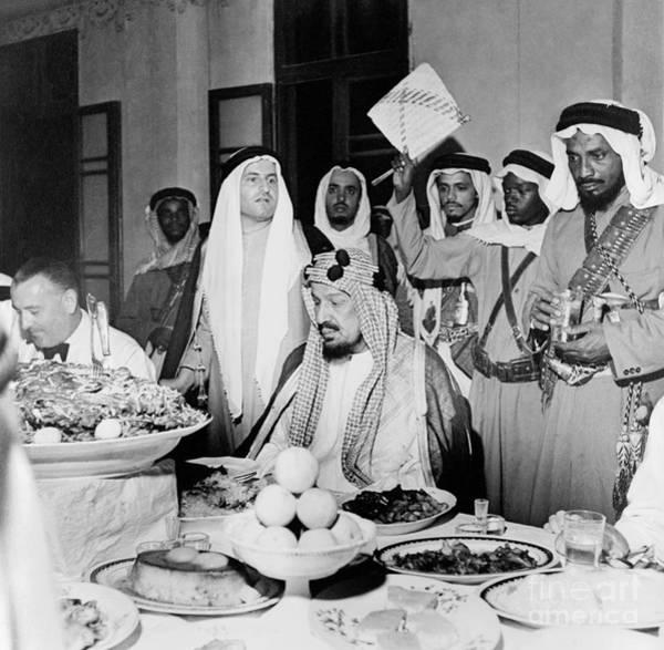 Photograph - Abdul-aziz Ibn-saud  by Granger