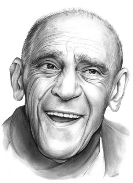 Movie Drawing - Abe Vigota by Greg Joens