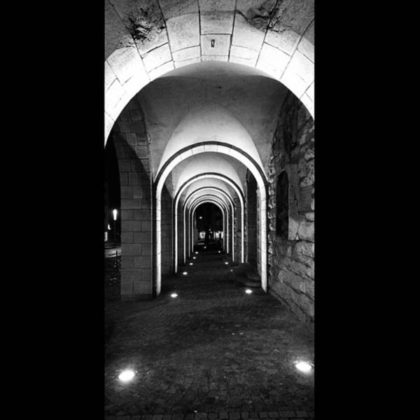 Monochrome Photograph - Abend In #nordhausen  #monochrome #bnw by Mandy Tabatt