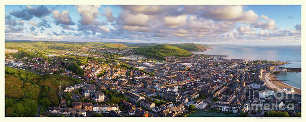 Photograph - Aberystwyth Panorama by Keith Morris